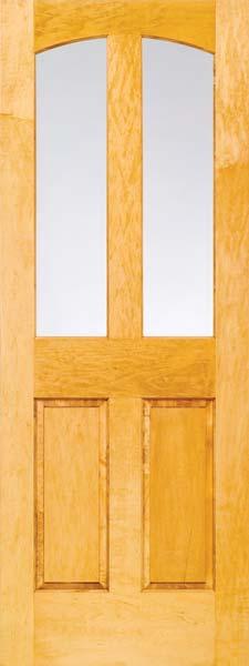 4 Panel Arch Half Lite