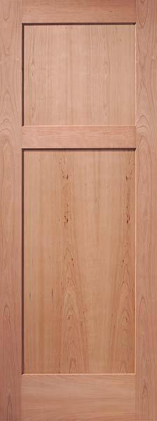 2 Panel Reverse Cherry Door