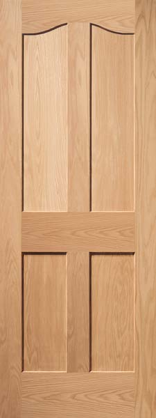 Interior flat panel doors mission style doors interior wood doors 4 panel eyebrow oak door planetlyrics Gallery