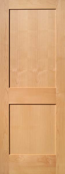 2 Panel Traditional Select Alder Door