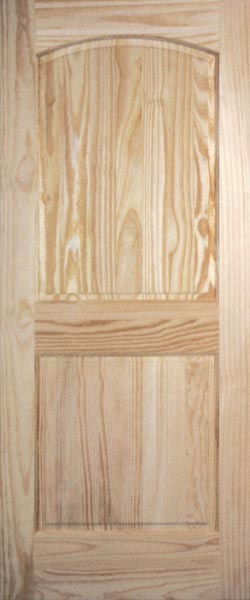 Clear and Knotty Pine Interior Doors | Rustic Interior Doors