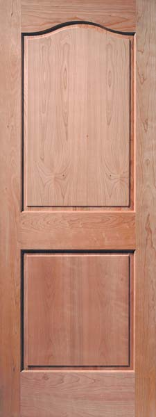 2 Panel Classic Cherry Door