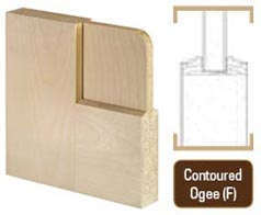 Flat Panel Contoured Ogee