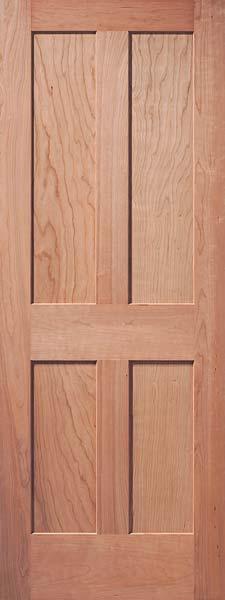 4 Panel Traditional Cherry Door