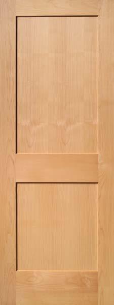 2 Panel Traditional Select Alder Door